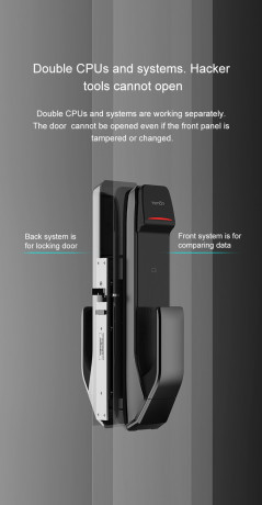 tenon-pushpull-smart-lock-dpa02-fingerprint-card-password-key-bluetooth-wifi-optional-big-0