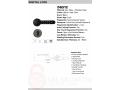 tenon-smart-gate-lock-fingerprint-password-bluetooth-key-wifi-optional-small-0